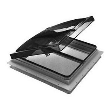 14 x 14 Manual Roof Vent With Smoke Lid