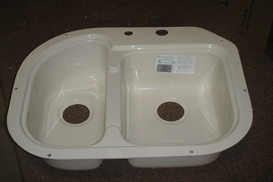 24 x 18 Undermount Double Bowl Sink