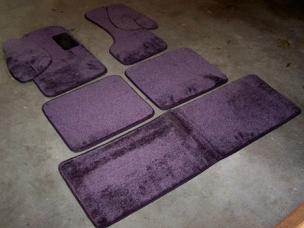Deluxe 5 Piece Complete Floor Mat Set