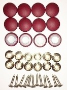 12 Pieces Durasnap Buttons - Custom Fabric Option