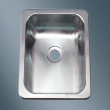 13 x 15 Single Bowl Stainless Steel Sink