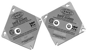 Safeguard 2 -20 Amp Circuit Breakers Moisture Resistant