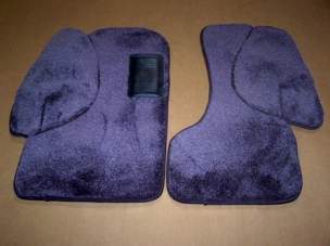 Deluxe 2 Piece Front Floor Mat Set