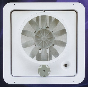 Complete Vortex Vent With White Lid
