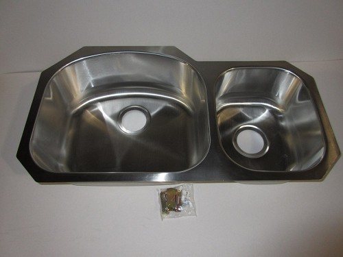 32 x 18 Undermount Double Bowl Stainless Steel Sink