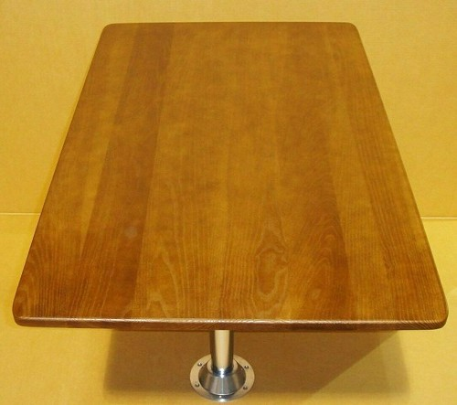 43 1/4 x 26 Hardwood Dinette Table Kit - Cognac Maple