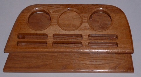 82-97 Dodge Drink Tray - Oak