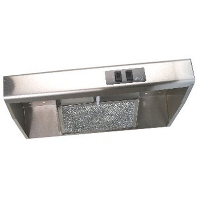 "20"" Range Hood Stainless Steel - Ducted"