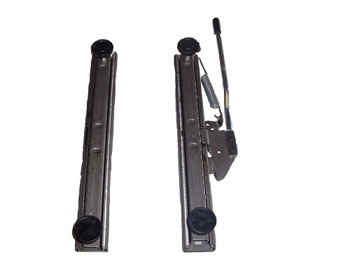 Pair Single Lock Slide Tracks